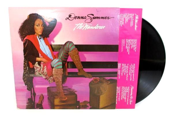 "DONNA SUMMER The Wanderer ORIG 12"" 33RPM LP Funk Disco Soul 1980 Lyric Sleeve"