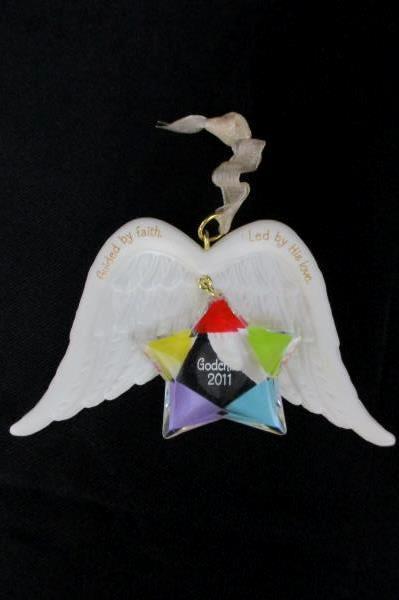 2011 Hallmark Ornament GODCHILD Guided by Faith Led by His Love Ornament