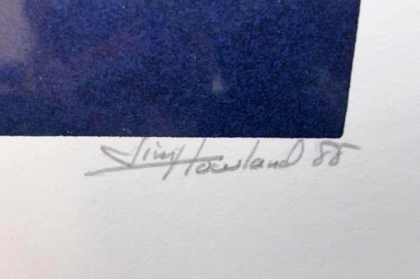 Limited Edition Signed Print Pioneer Hall Linfield College Jim Howland 1988