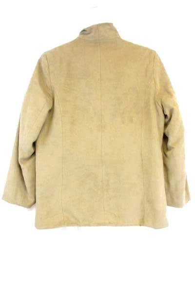 Women's Tan Polyester Quilt Lining Jacket Zip Up Size XS ~ LONDON FOG