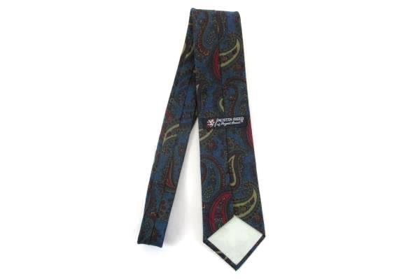 Austin Reed of Regent Street Italian Silk Neck Tie USA Made Paisley Print Mens