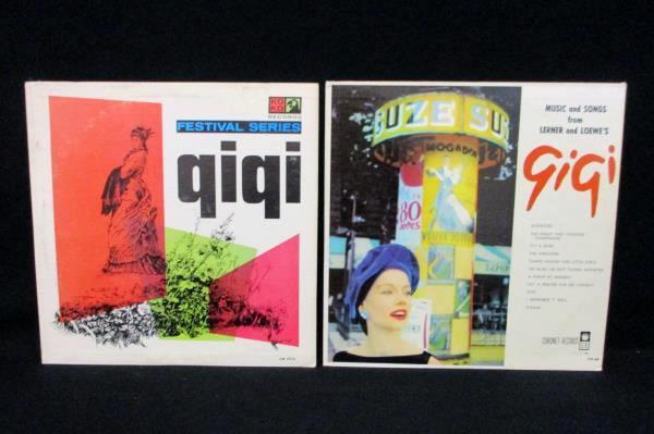 Lot of 2 Lerner & Loewe's GiGI Music and Songs Festival Series