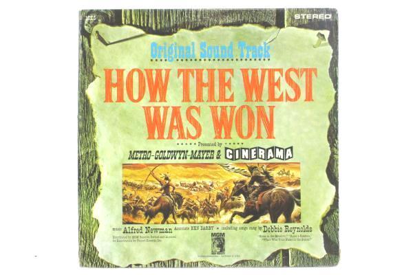 Original Sound Track How the West Was Won Metro Goldwyn Mayer Cinerama