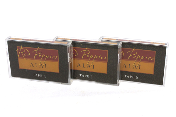Red Poppies A Historcial Novel by Alai  Audio 6 Cassette Tapes