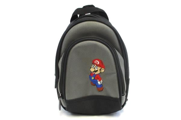 A.L.S. Industries MARIO Nintendo Game Zipper Carry Travel Case Backpack Black