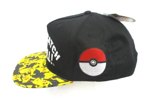 Nintendo OFFICIAL Pokemon GOTTA CATCH THEM ALL YOUTH CAP HAT with TAG ~ NEW