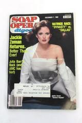 1982 Soap Opera Digest #25 Vol. 7 General Hospital Jackie Zeman ~Magazine