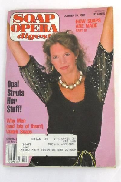 1982 Soap Opera Digest #22 Vol. 7 All My Children Dorothy Lyman ~ Magazine