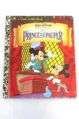 Vintage 1993 Little Golden Book The Prince and the Pauper Walt Disney