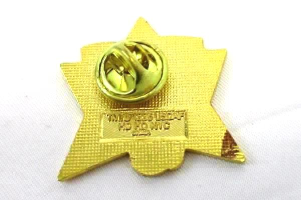 1995 Triumph of the Human Spirit Flag Phoenix Enamel Lapel Pin Gold Tone Brooch