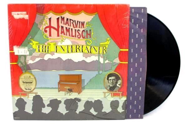 Marvin Hamlisch The Entertainer Vinyl LP Album Record MCA2115 MCA RECORDS