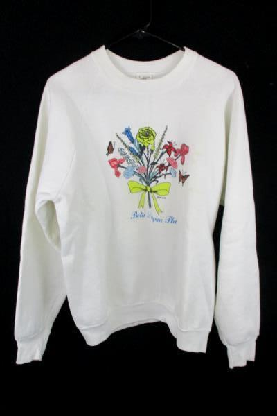 Vintage Sorority Pullover Sweater Women's Size Large