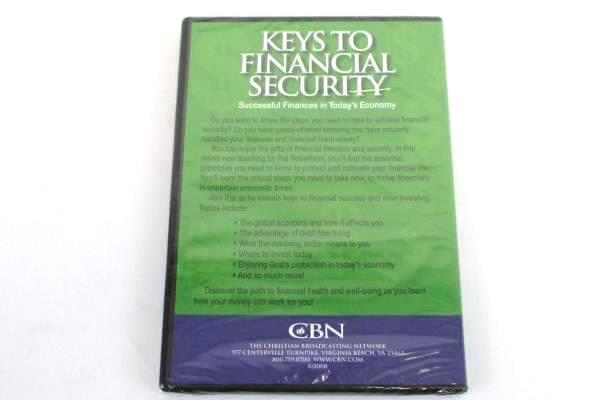 2008 Sealed DVD KEYS TO FINANCIAL SECURITY Pat Robertson