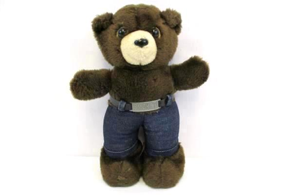 "10"" You Prevent Forest Fire Smokey the Bear Plush Stuffed 1983 R. Dakin & Co."