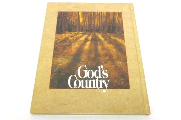 Lot of 2 Spiritual Books God's Country Pictorial & RD's Bible Through the Ages