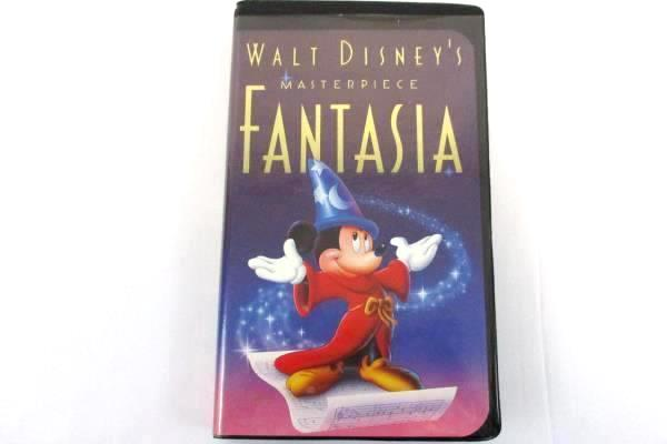 3 Disney VHS Movies Fantasia Beauty Beast Special Edition Belle's Magical World