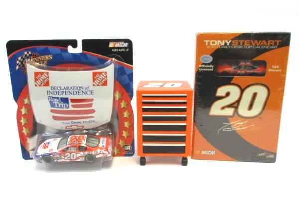 Lot of 3 Collectible Memorabilia Tony Stewart Independence Road Trip & Calendar
