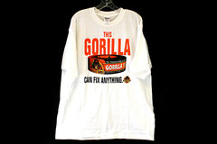 This Gorilla Can Fix Anything Toughest Tape on the Planet 100% Cotton T-Shirt XL