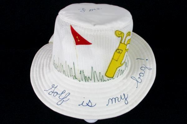 Lot of 5 Cream Sunny Floppy Women Golf Garden Vintage Hats