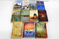 Lot of 11 Nora Roberts Paperback Books Starlight Chasing Hope Hearts Untamed Mor