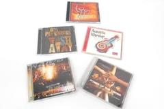 Lot Of 5 Worship CDs My Savior Lives Acoustic Worship Power Of The Cross Freedom