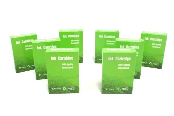 Lot of 8 Quality Recycle Black Ink Cartridges C-PGI225 CI-PGI-225BK ~In Box