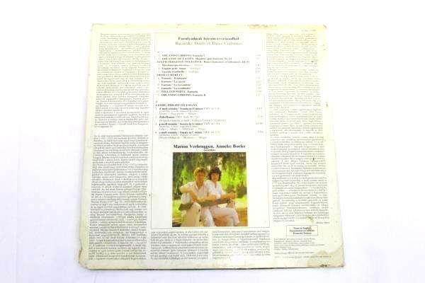 "12"" 33RPM ""Recorder Duets Of Three Centuries"" 1986 SLPD12795 LP Record"