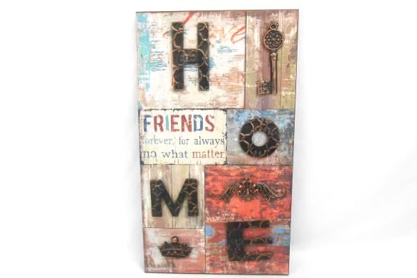 Homeview Designs Wall Decor Rustic Wall Hanging Home Sign