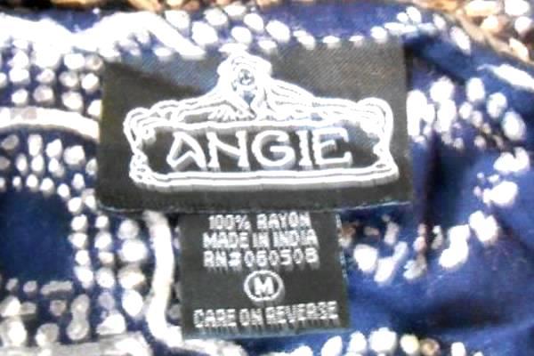 Angie Blue Peekaboo Cold Shoulder Cap Sleeve Jumpsuit Romper Jumper Women's M