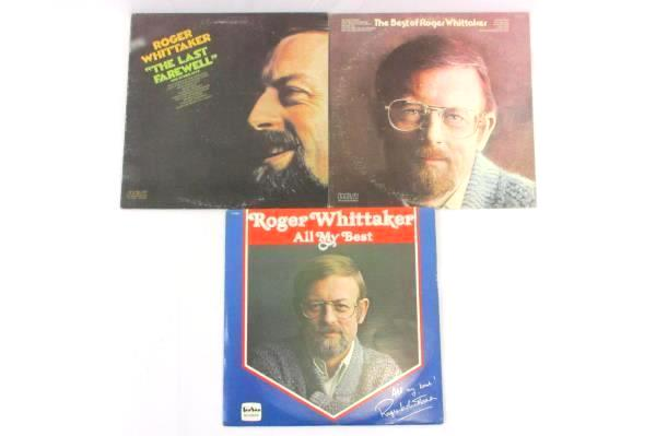 Lot of 3 Roger Whittaker Vinyl LP Records The Best Farewell My Best