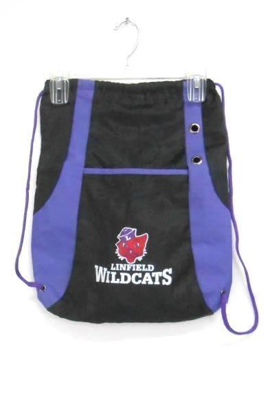 Lot 4 Linfield College Gear Sz S Greek Life Week Wildcats Drawstring Backpack