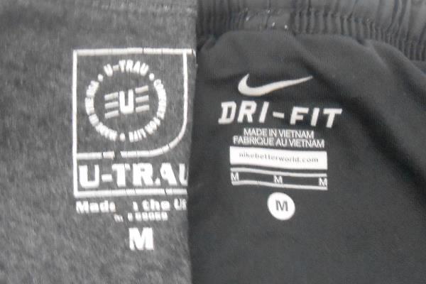Linfield College Lot: T-Shirt Water Bottle Sweat Towel Bag + Bonus Nike Shorts