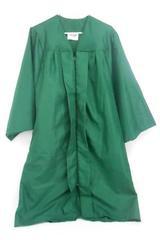 "Jostens Robe Graduation Choir Costume Emerald Green Unisex Size 5'1"" to 5'3"""