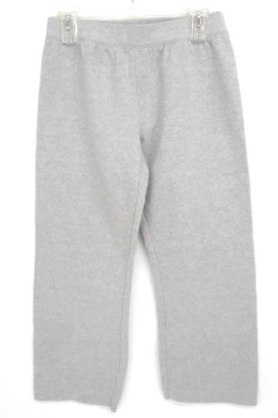 Lot of 2 Charcoal San Juans Pullover Sweatshirt Gray Hanes Sweatpants Women's S
