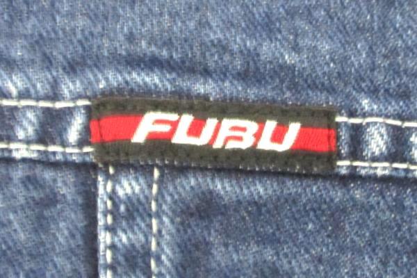 FUBU The Collection Boys Denim Jacket Size Small 100% Cotton