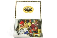 Huge Lot of Vintage Matchbooks Covers in Hoyo de Monterrey Cigar Box
