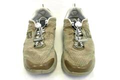 Propet Beige Walking Shoes Travel Sneakers Walker Women's Sz 7.5 Suede W3218