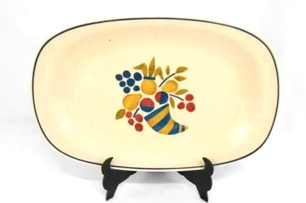 "Versatone By Noritake Dinnerware Vegetable Bowl & Serving Platter ""Abundance"""