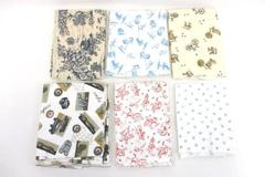 Lot of Quilt Sewing Fabric Quarter Remnant Outdoor Activity Bikes Hiking Rodeo