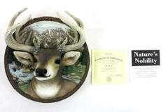 "Nature's Nobility ""The Buck"" Certificate of Authenticity The Bradford Exchange"