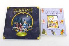 2 Children's Books Winnie The Pooh Holiday Treasury Bedtime Stories Keepsake C