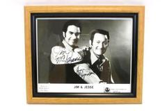 "Grand Old Opry Star Jim & Jesse McReynolds Autographed Picture Framed 10"" x 12"""
