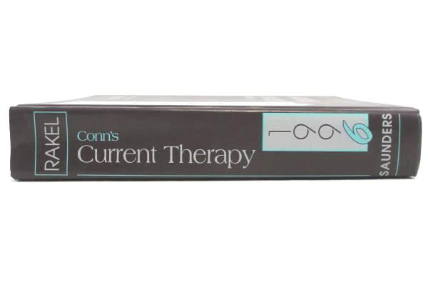 Conn's Current Therapy 1996 W.B. Saunders Co. Vintage Medical Textbook