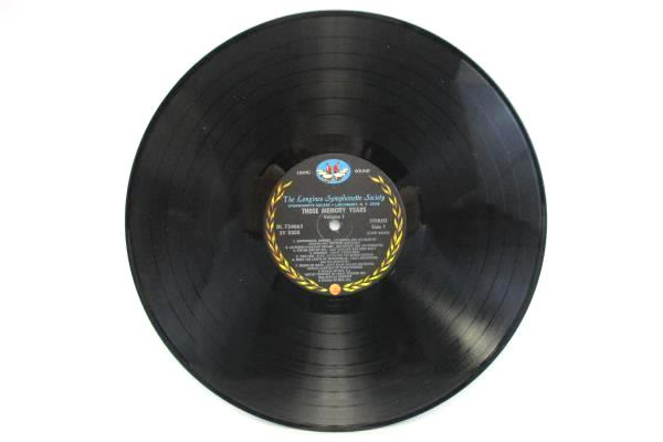 The Longines Symphonette Society - Those Memory Years Volume 1 LP 33 RPM