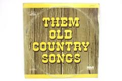 Them Old Country Songs - Collector's Edition Double Record Set RCA LP 33 RPM