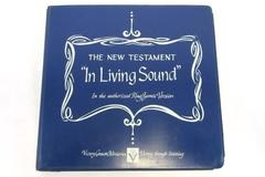 King James Version New Testament Bible In Living Sound on 12 Cassettes