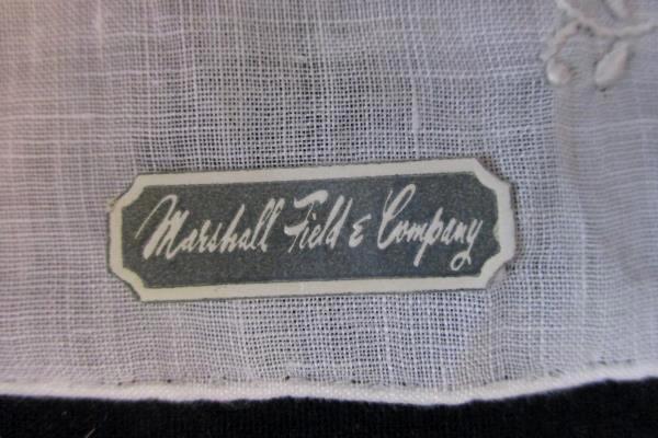 Handkerchief Marshall Field & Company 100% Linen Vintage In Box W/ Tags