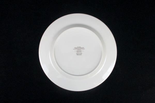 """Set of 3 Villeroy & Boch Dinner Plates Carrousel Blue Orange Bands 10.5"""""""