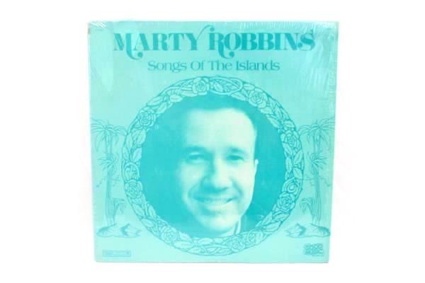 Marty Robbins - Songs Of The Islands Vinyl LP 33 RPM P 17367 1983 CBS