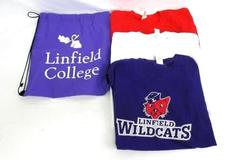 Linfield College 3 Wildcat Alpha Phi Sorority T-Shirts Drawstring Bag Womens